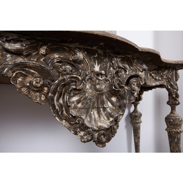18th Century Italian Baroque Console For Sale In Los Angeles - Image 6 of 10
