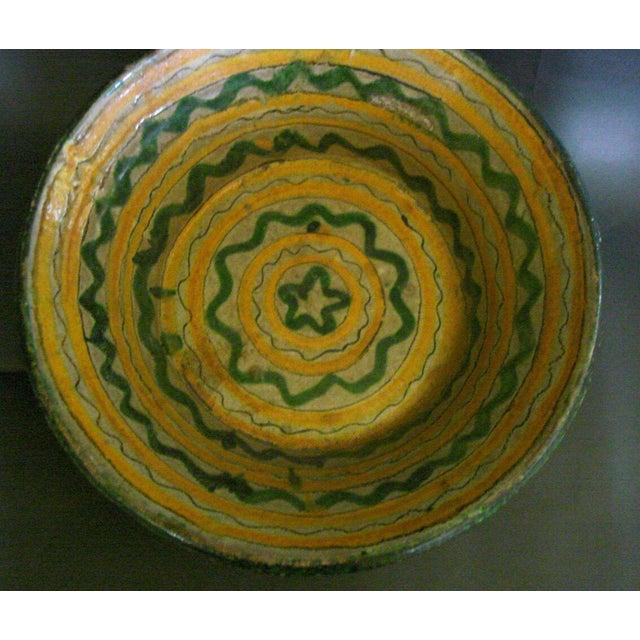 18th-19th Century Majolica Ceramic Baptismal Bowl - Image 6 of 8