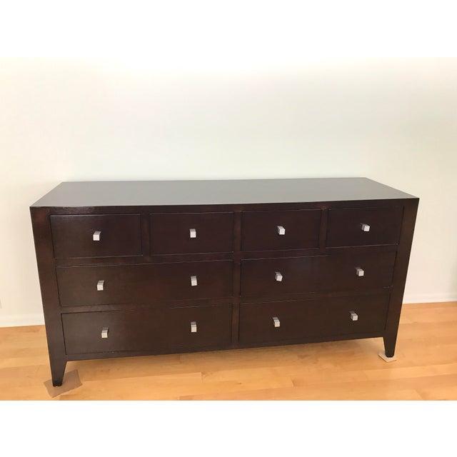 Custom Solid Wood 8 Drawer Dresser - Image 2 of 4