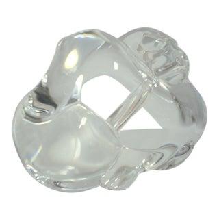 Steuben Crystal Puppies Handcooler For Sale