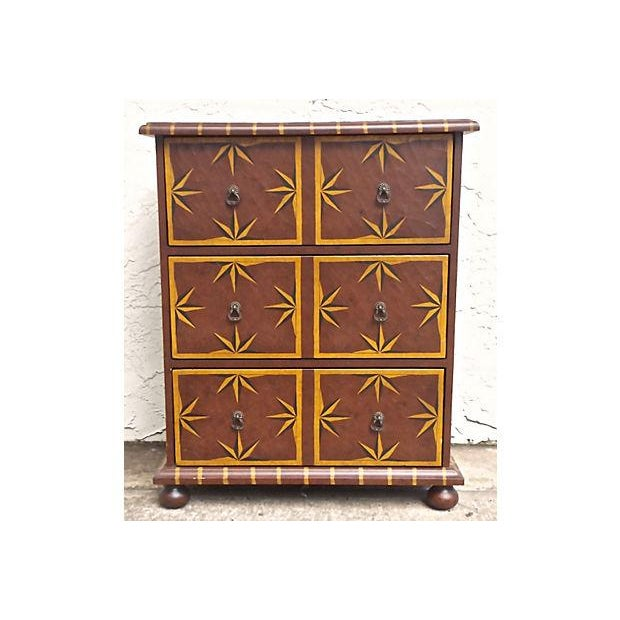 Vintage Starburst Painted Chest of Drawers - Image 2 of 6