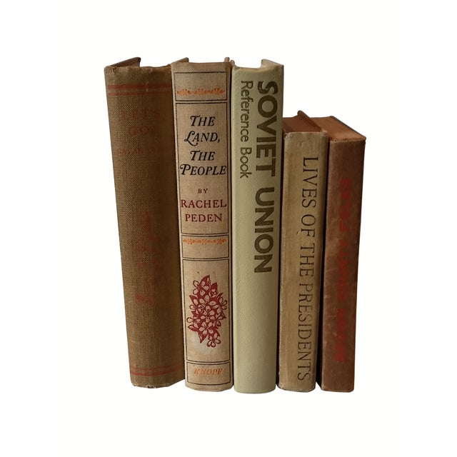 Decorative Vintage Books - Set of 5 - Image 1 of 4