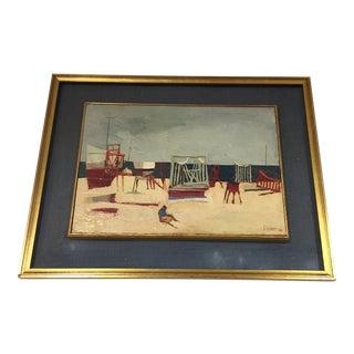 "Nicola Simbari ""Piccolo Cantiere"" Oil Painting For Sale"