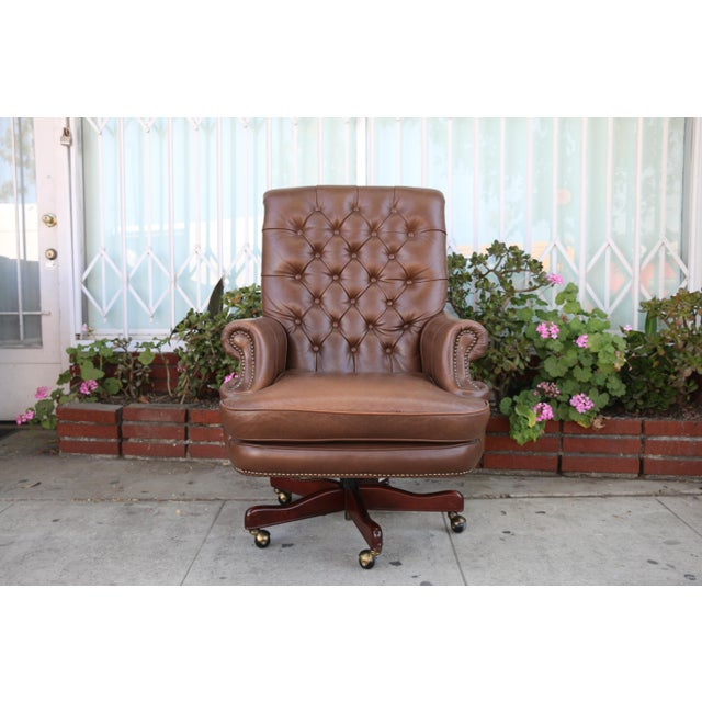 Fantastic Bradington Young Executive Leather Chair Short Links Chair Design For Home Short Linksinfo