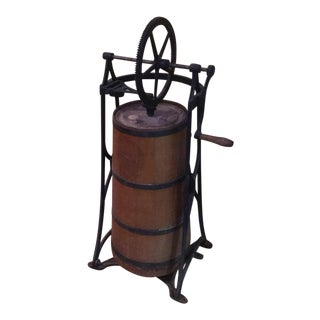 1900s Vintage Country Butter Churn For Sale