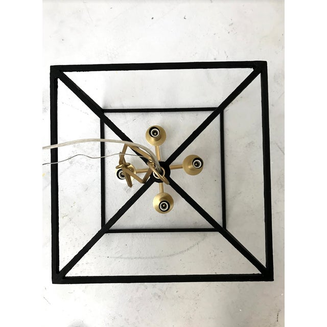 2010s Modern Brass and Gold Pendant by Becki Owens for Hudson Valley Lighting For Sale - Image 5 of 10