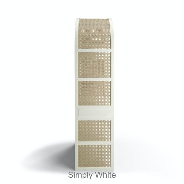Leila Etagere Bookcase - Black Iron For Sale - Image 4 of 5