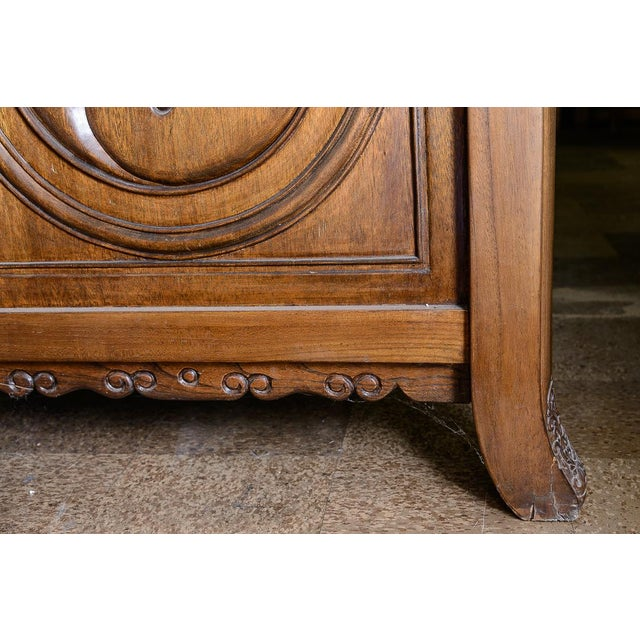 Wood Oversize altar table For Sale - Image 7 of 10