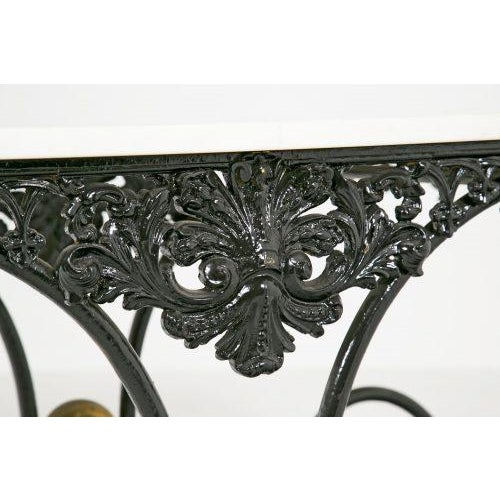 Ceramic French Pastry Table For Sale - Image 7 of 9