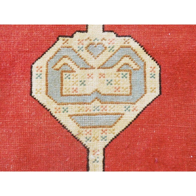 """Hand-Knotted Turkish Serapi Rug - 8'7""""x 12' For Sale - Image 10 of 12"""