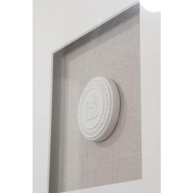 Contemporary Set of Three Hatcher, New Orleans, Framed Intaglios For Sale - Image 3 of 8