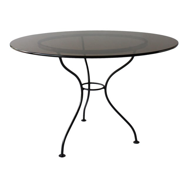 Mid-Century Iron Tripod Table For Sale