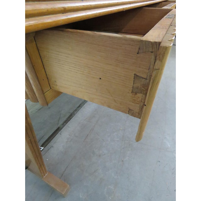 Gio Ponti Style Desk For Sale - Image 5 of 7