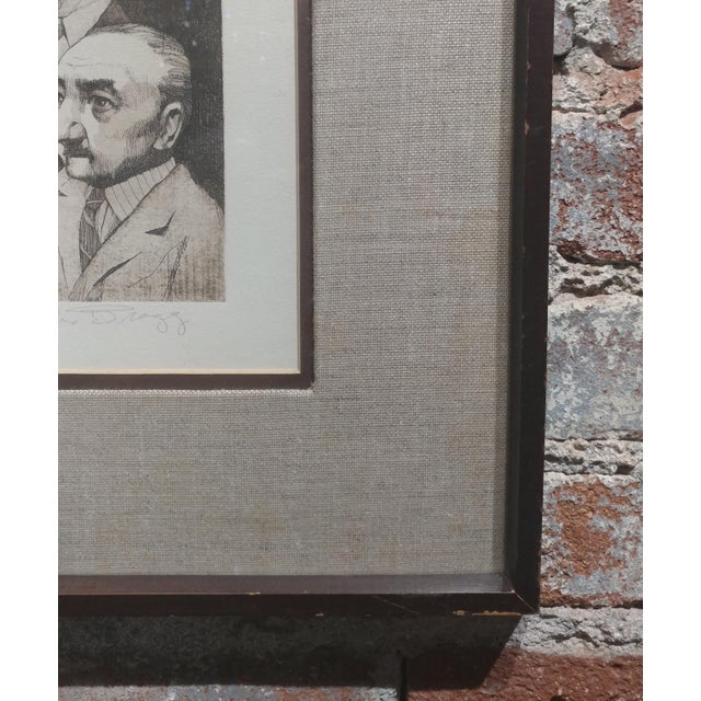 Charles Bragg- Sequestered Jury - Original Hand Signed Etching For Sale In Los Angeles - Image 6 of 8