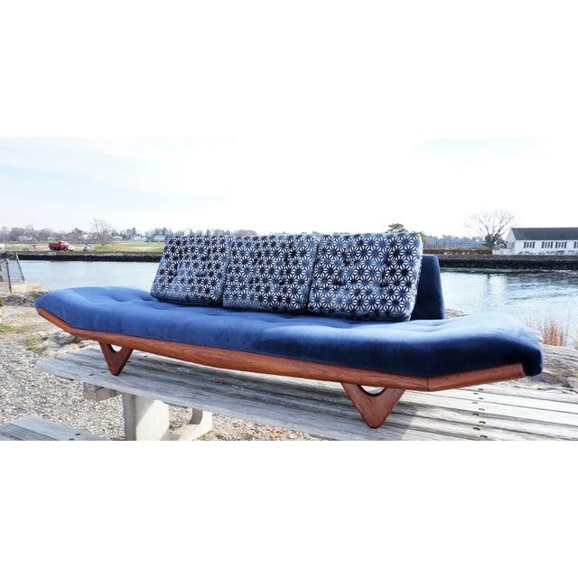 Mid-Century Modern Adrian Pearsall Gondola Sofa - Image 5 of 9