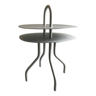 """Taco"" Aluminum Side Table by Francesca Lanzavecchia For Sale"