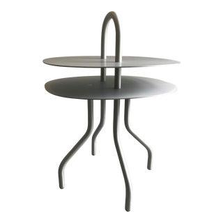 """""""Taco"""" Aluminum Side Table by Francesca Lanzavecchia For Sale"""