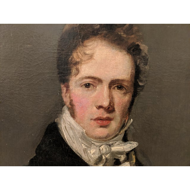 Manner of John Constable, RA (British 1776-1837), Self Portrait Oil on Canvas. Painted by an extremely accomplished hand...