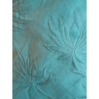 Clarence House Italian Matalesse Lamps, Hollywood Regency Green Palm Fronds - 8 Yards For Sale