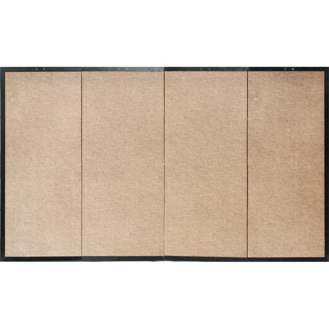 Late 19th - Early 20th Century Japanese Byobu Screen For Sale - Image 12 of 13