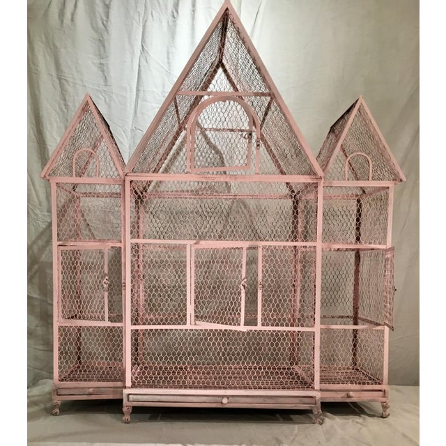 Pink Chateauseque Birdcage - Image 2 of 11