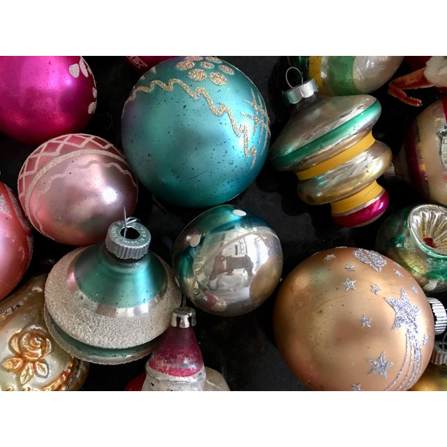 Vintage Assorted Glass Ornaments - Set of 28 - Image 3 of 6