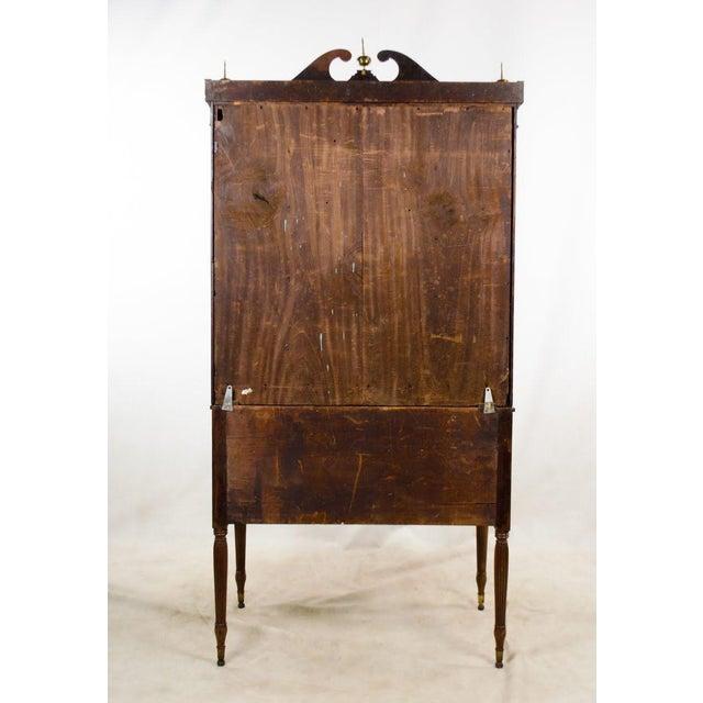 Early 19th Century Antique Regency Secretary Desk For Sale - Image 12 of 13