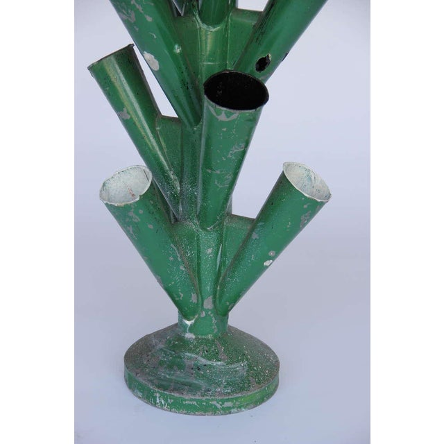 1950s French Flower Market Bouquet Holder For Sale - Image 5 of 9