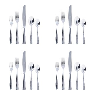 Kenneth Ludwig Chicago Vietri Borgo Place Settings Set for 4 - 20 Pieces For Sale