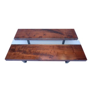 Black Walnut Slab Coffee Table