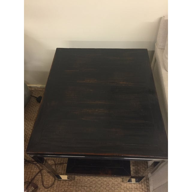 Artistica Modern Metal End Table - Image 6 of 7