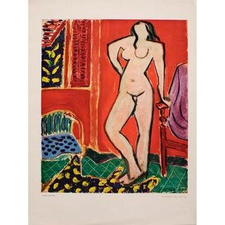 "1948 Matisse ""Standing Nude"", Original Period French Lithograph For Sale"