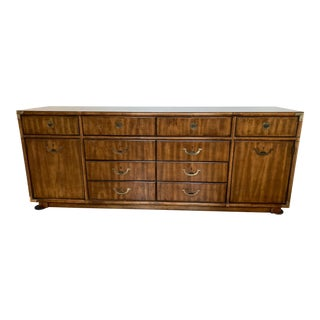 1970s Campaign Drexel Accolade Credenza For Sale