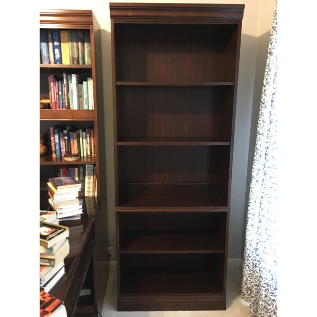 Wood 1990s Bookcase by Hooker Furniture For Sale - Image 7 of 7