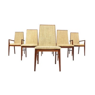 Mid Century Dining Chairs by Milo Baughman - Set of Six For Sale