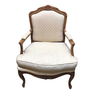 Baker Furniture French Provincial Accent Chair For Sale
