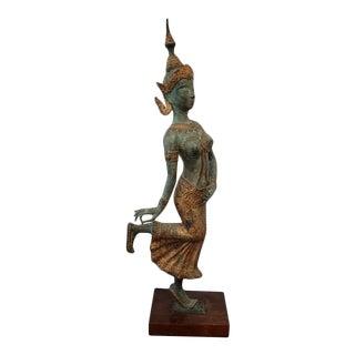Bronze Dancing Hindu Sculpture For Sale