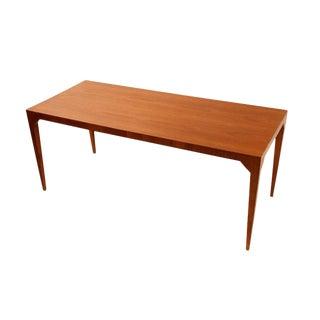 Gio Ponti Walnut Occasional Table For Sale