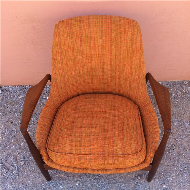 Rare Ib Kofod-Larsen 'Seal' Easy Chair For Sale - Image 9 of 10