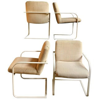 Milo Baughman Cantilever Dining Chairs for Thayer Coggin For Sale