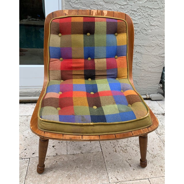 Mid Century Carter Brothers 200 Scoop Chair For Sale - Image 13 of 13