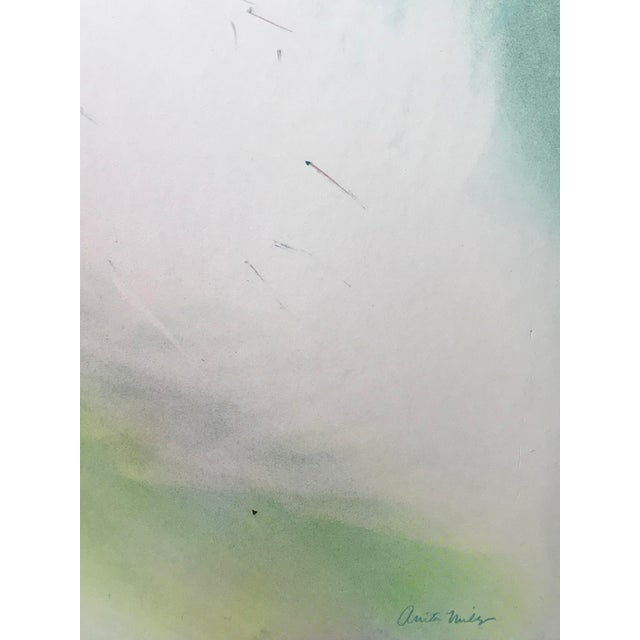 """Airbrush 1979 """"Chronique Scandaleuse"""" Mixed Media Abstract Painting For Sale - Image 7 of 13"""