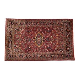Leon Banilivi Vintage Persian Kazvin Rug For Sale