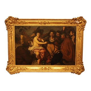 Framed Painting of Bacchus in 19th Century Frame For Sale