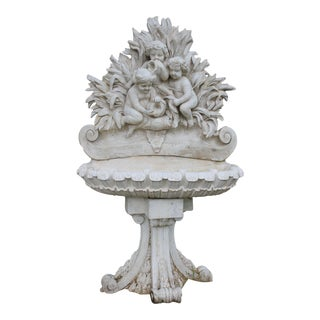 Vintage Victorian Outdoor Statuary For Sale