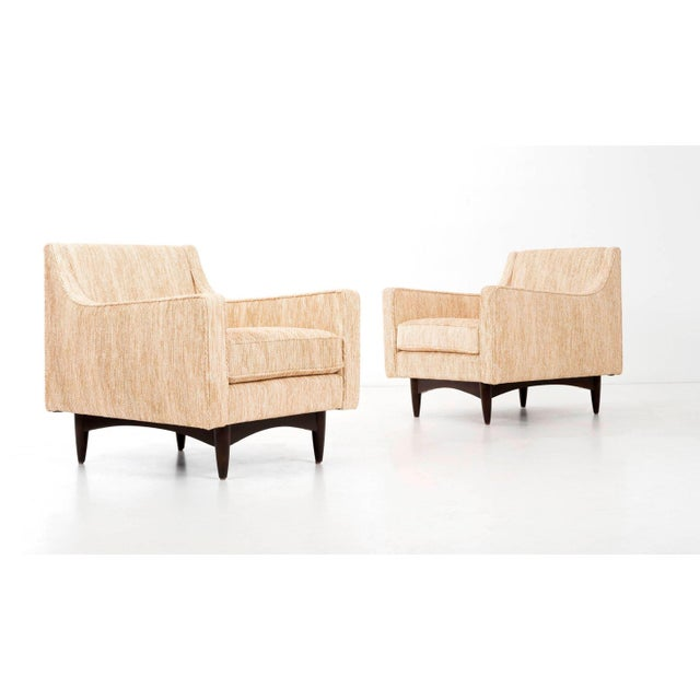 Pair of Woven Lounge Chairs For Sale - Image 12 of 14