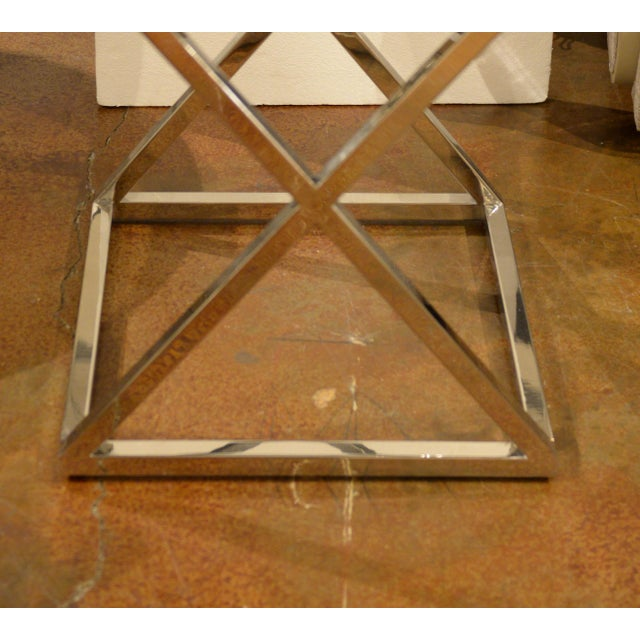 Contemporary Thomas & Gray Side Table For Sale - Image 3 of 4