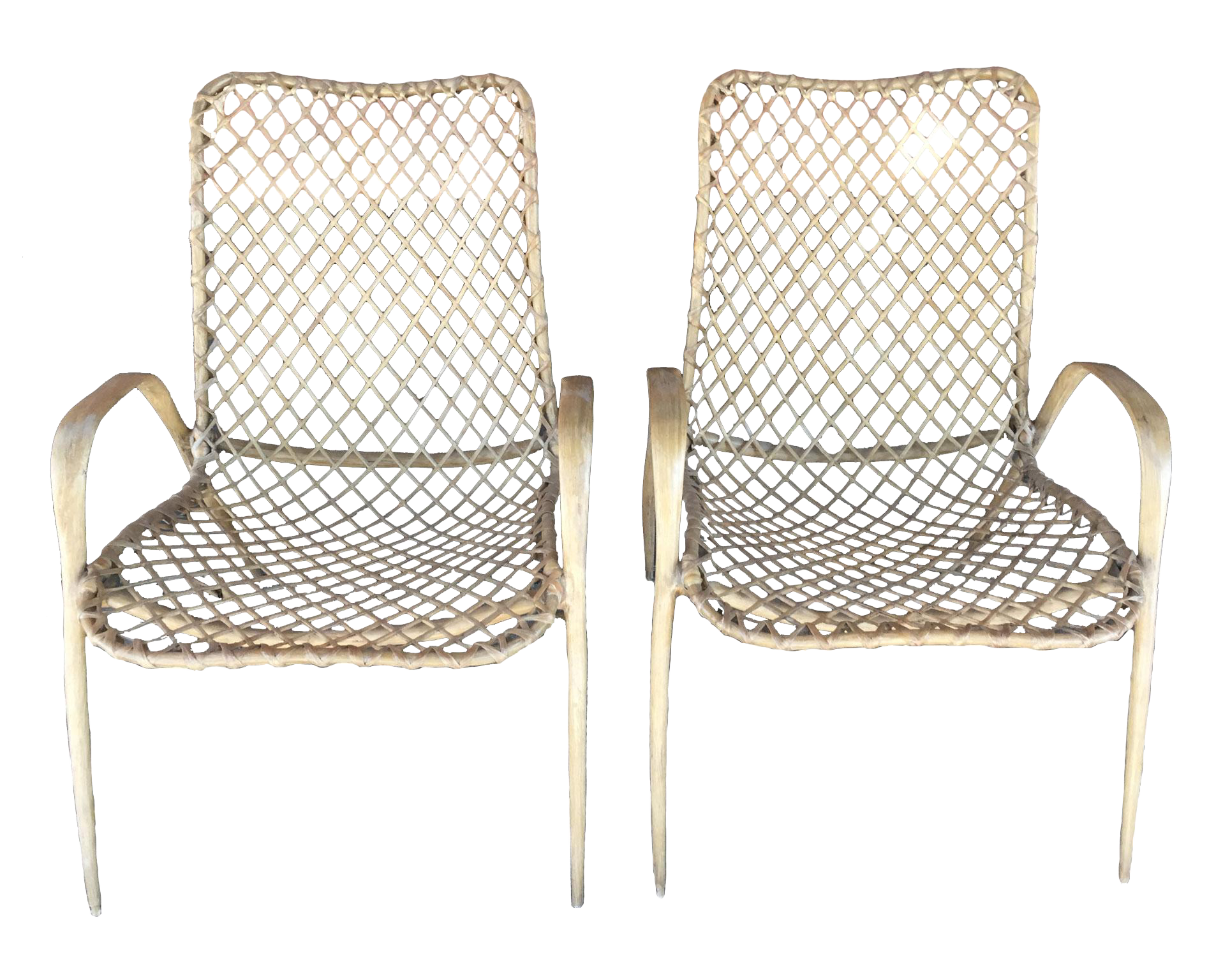 Pair of Translucent Fiberglass Chairs circa 1950s For Sale  sc 1 st  Decaso & High-End Pair of Translucent Fiberglass Chairs circa 1950s | DECASO