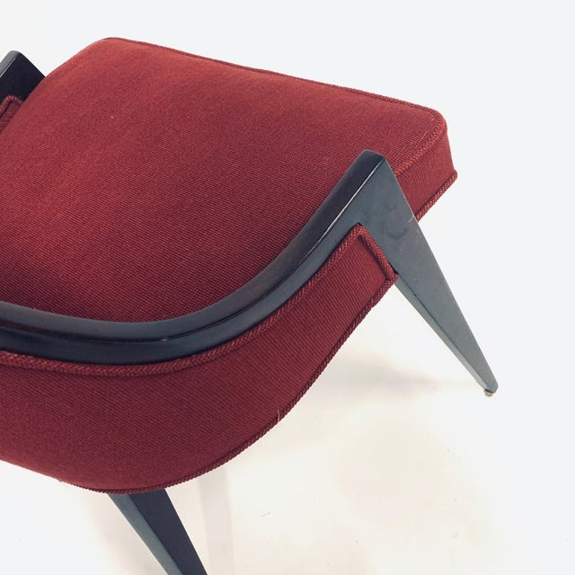 Harvey Probber Model 1053 Sculptural Gondola Slipper or Side Chairs - a Pair For Sale - Image 9 of 13