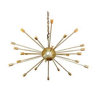 Vintage Sputnik 24 Arm Chandelier